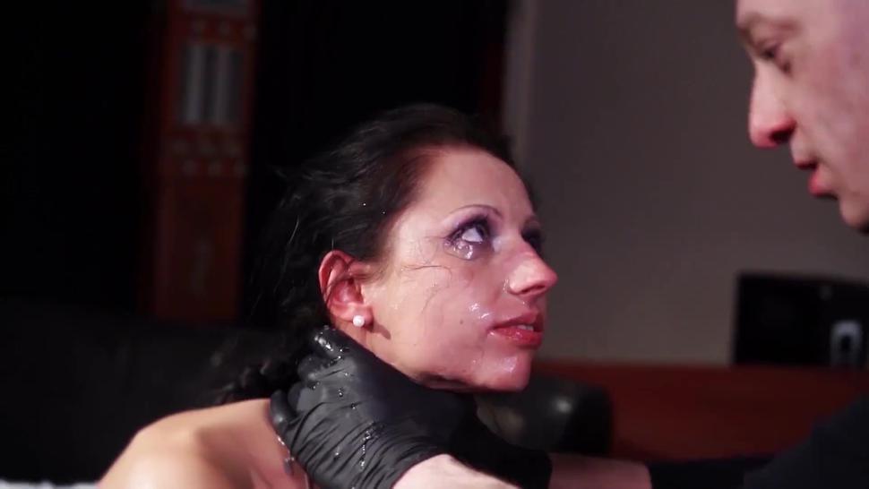 BadTimeStories - Kinky German MILF Hot Wax Domination BDSM By BBC