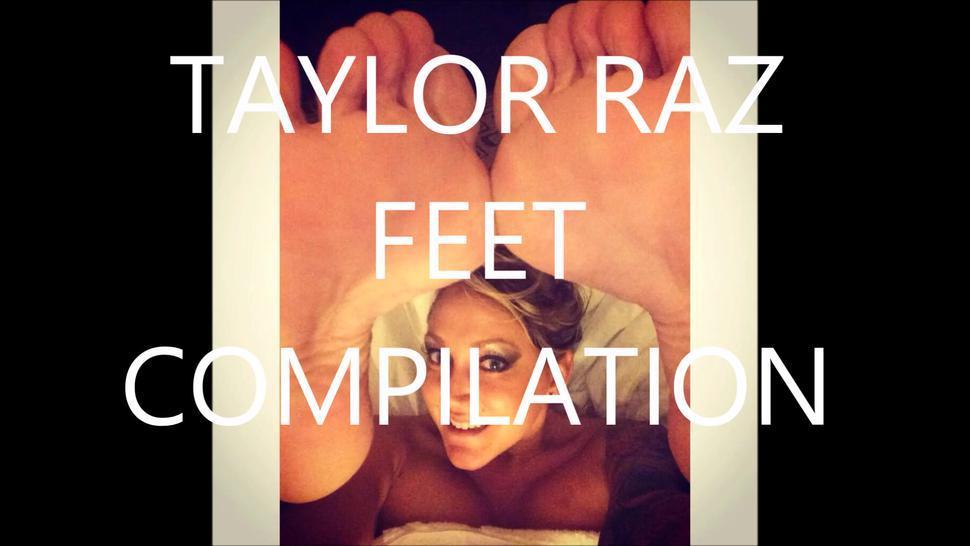 McSpurtySpurt*** Taylor Raz Feet Compilation