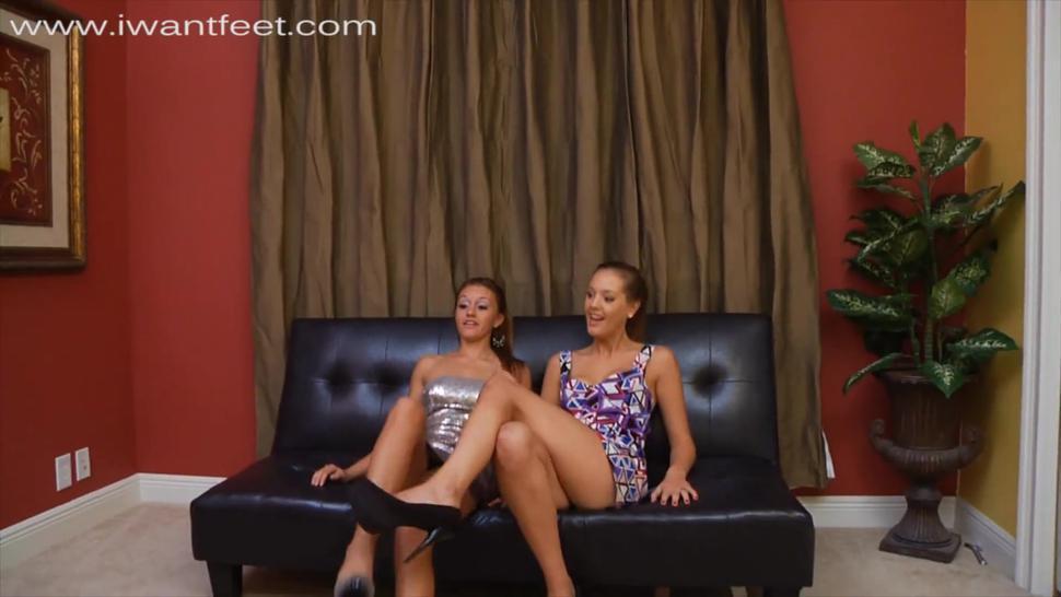 Lesbian Foot Worship Slave
