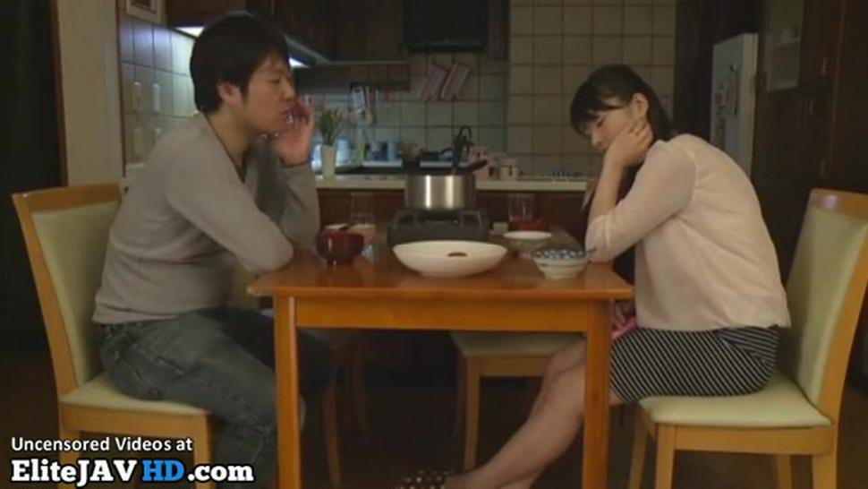 Japanese Wife Choose To Cheat Husband With Boss
