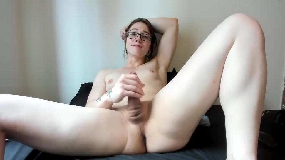 shemale web camera masturbation