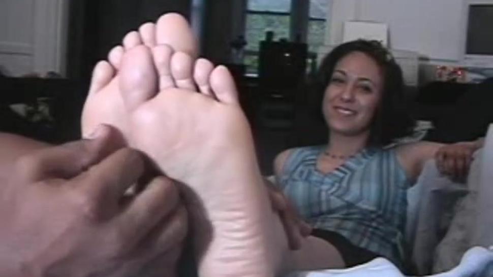 Mature Latina Tickled