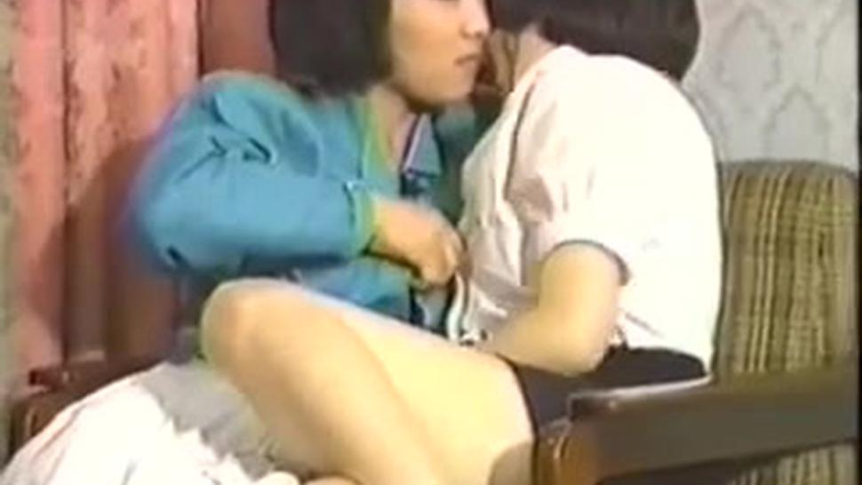 Amateur Asian Threesome Hairy Sisters Retro
