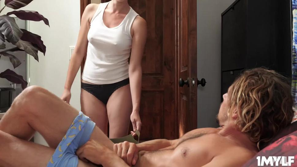 Tyler is horny as fuck and bangs his stepmom Artemisia from behind