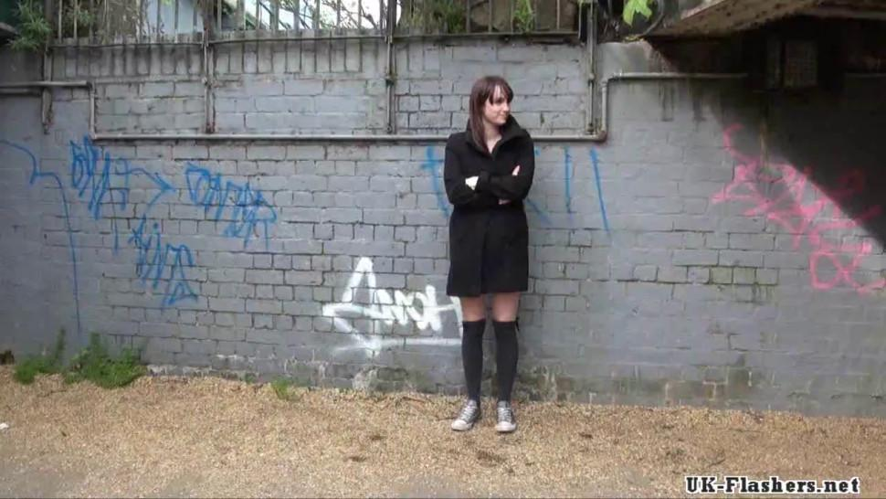 Sexy amateur exhibitionists public masturbation and outdoor flashing
