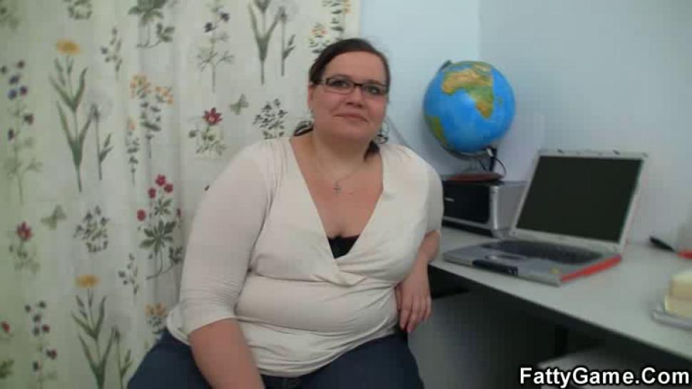 FATTYGAME - Fat woman fucking an young stud