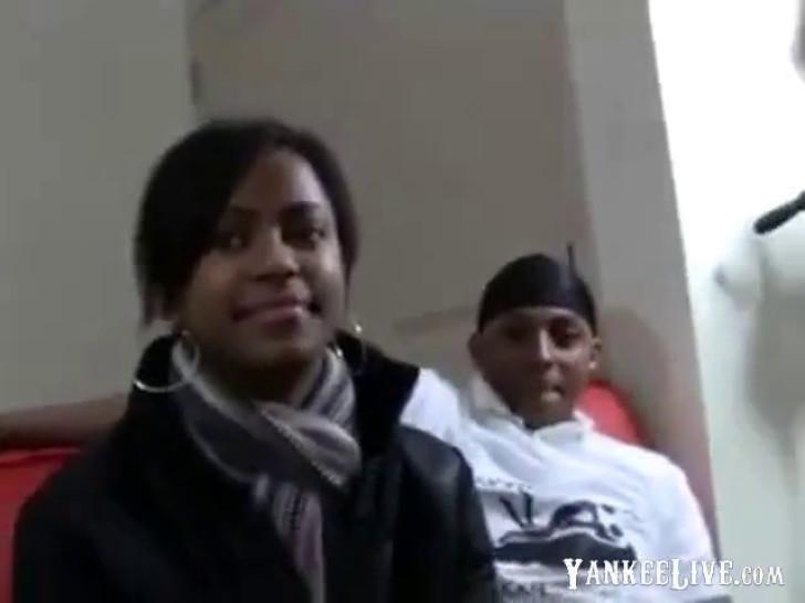 Amateur - Hot Ebony MMF Threesome