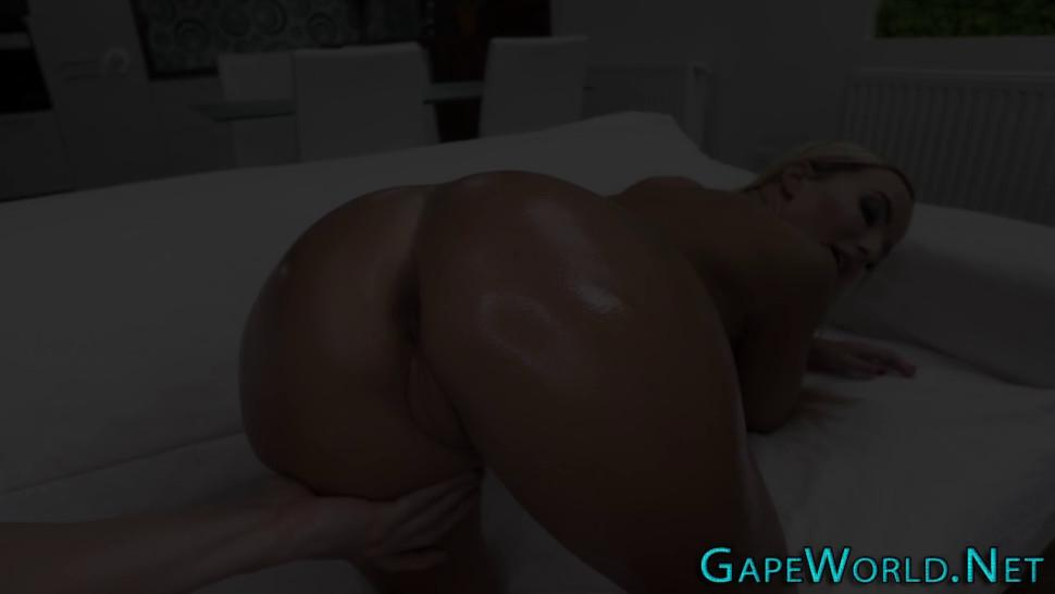 European gets booty creampied