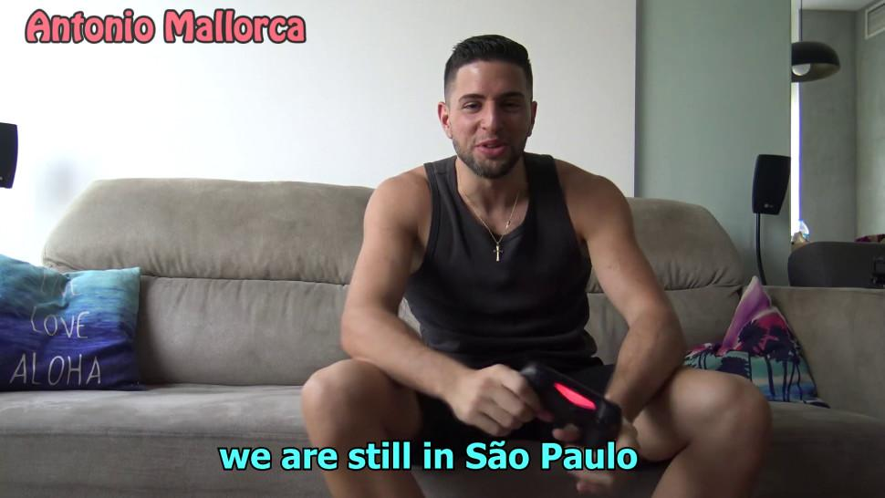 Super Big Ass Brazilian Gets Anal Screw After Playing Fortnite