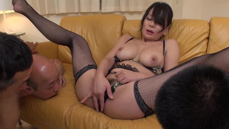 Lovely busty exotic mature sweetie rei kitajima gets fucked
