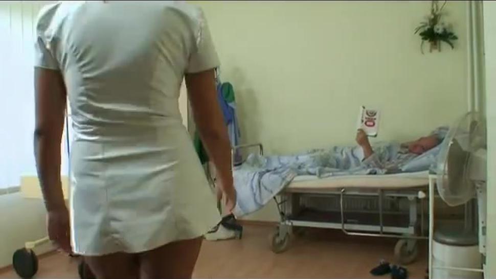 clinic sex for horny grandpa