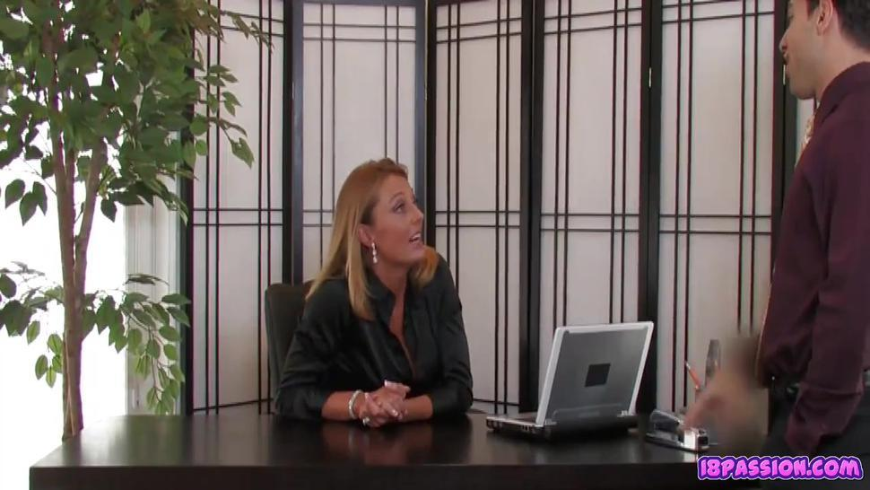 Mature At The Office - Brenda James