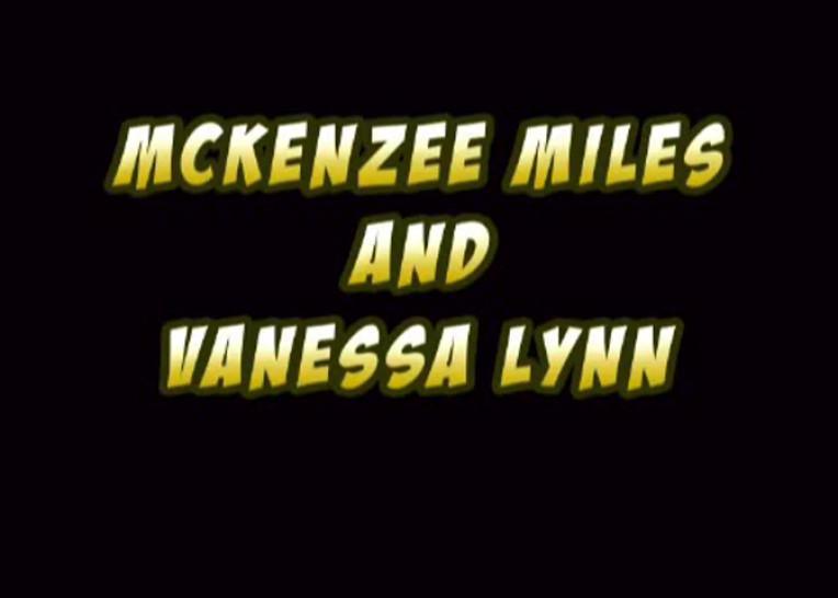 Vanessa Lynn & Mckenzie Miles Blowjob