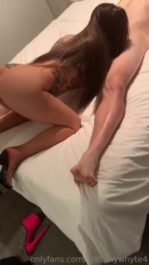 Cuckold husband records wife sucking another guys cock