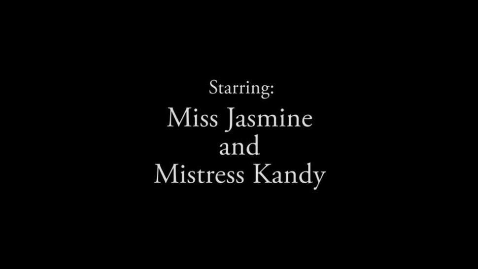 Mistress Kandy and Miss Jasmine - Strapon