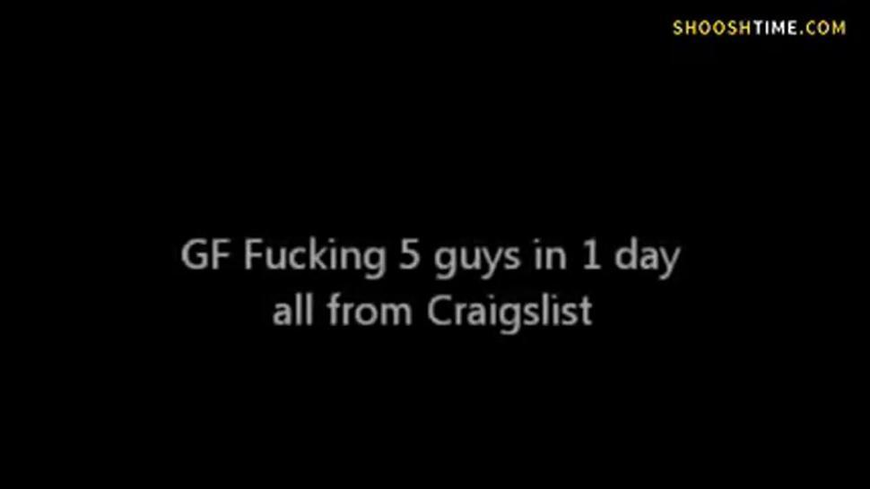 Asian girl films herself getting with 5 subsequent guys from Craigslist