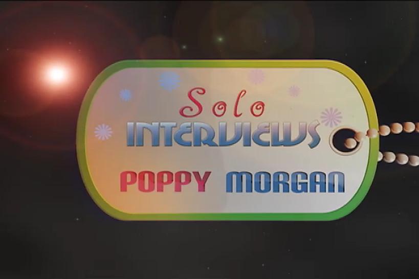 SoloInterviews Poppy Morgan brunette teen kitche solo sex toy masturbation - Solo Interviews