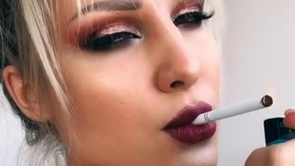 Smoking hot compilation - smoking young fetish