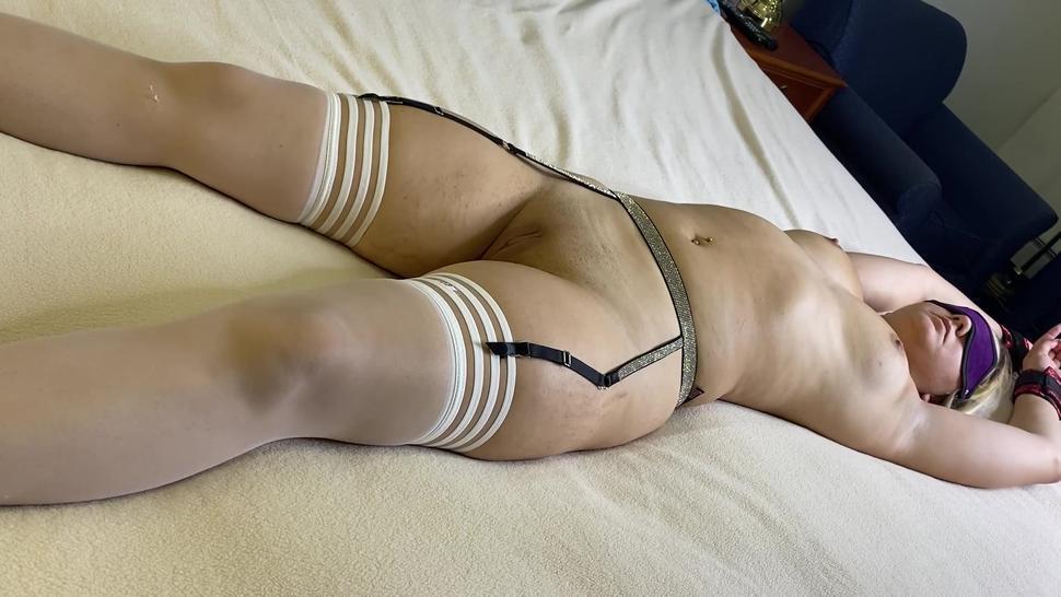 Blonde Teen First Time Bondage Torture