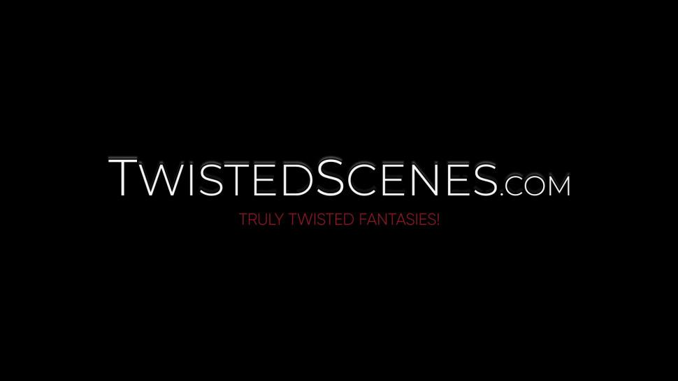 TWISTED SCENES - Hottest redhead Bree Daniels fucks hardcore for cum in mouth