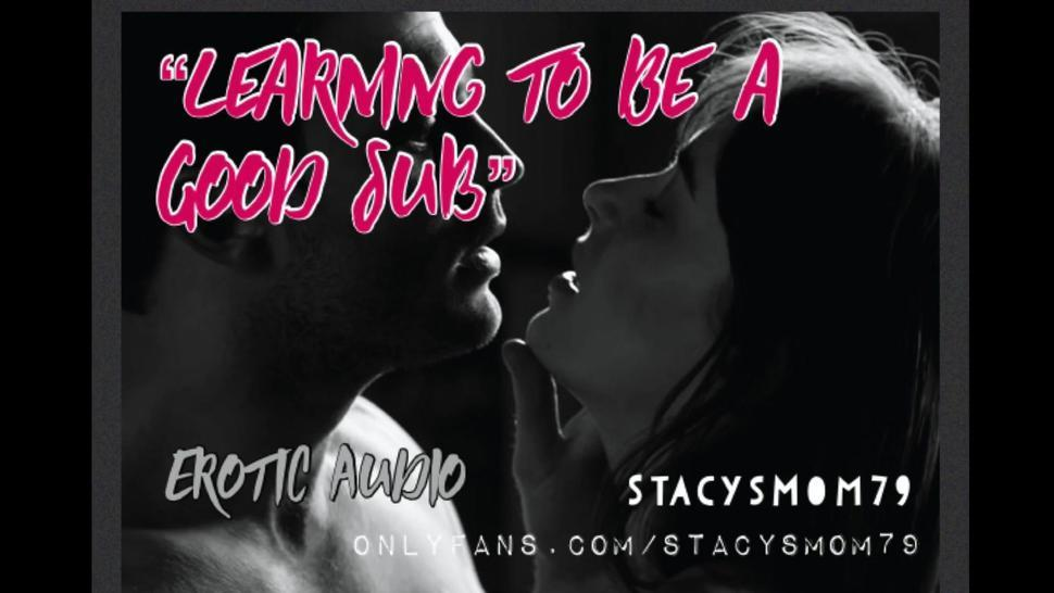 Learning to Be a Good Sub: BDSM/Deep Throating (Erotic Audio for Men)