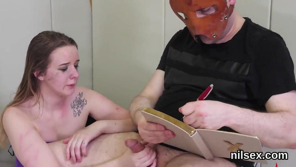 Horny sweetie was taken in anal hole asylum for painful treatment
