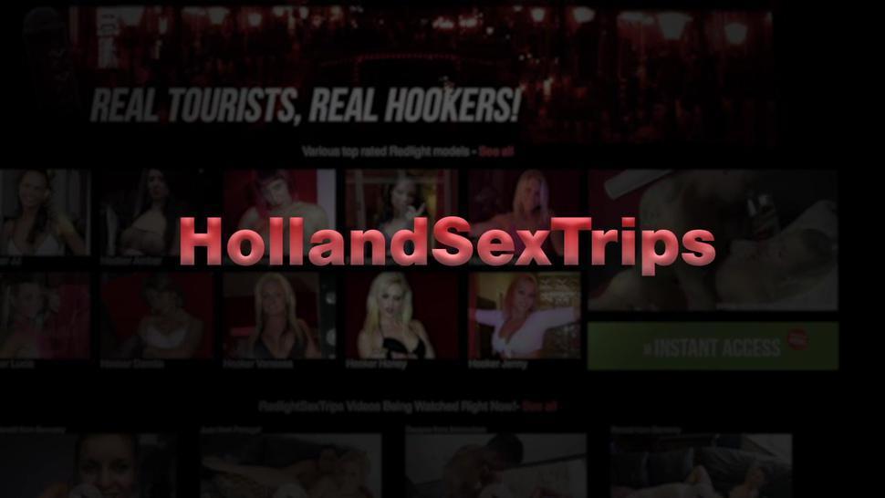 Dutch hooker gets fucked for money