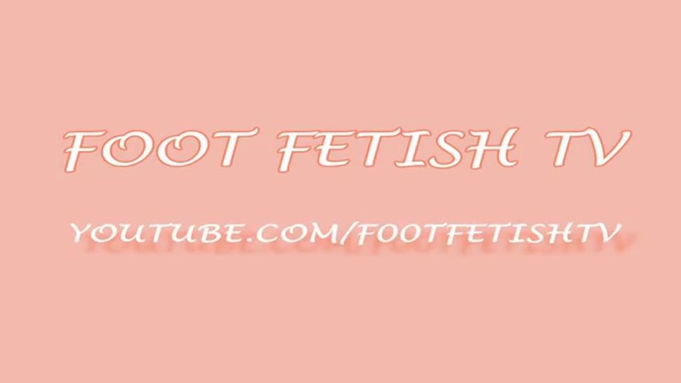 Sexy Teen Feet on Cam