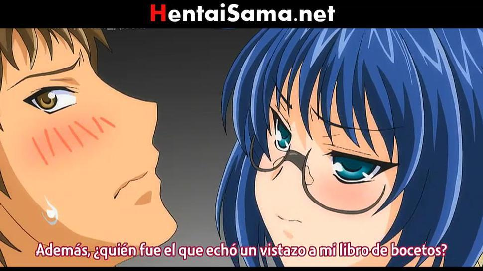 Hentai sin censura Desvirgo a mi amiga otaku