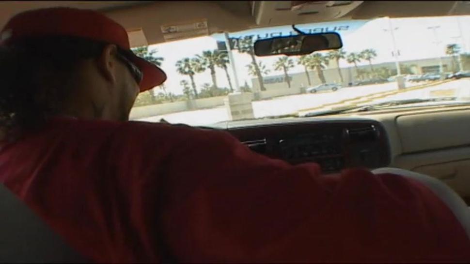 Tanned Girl Taken For A Ride - Amy Reid