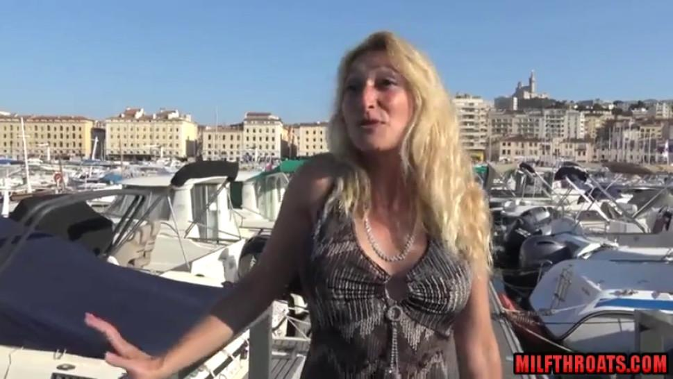 Hot french mature threesome