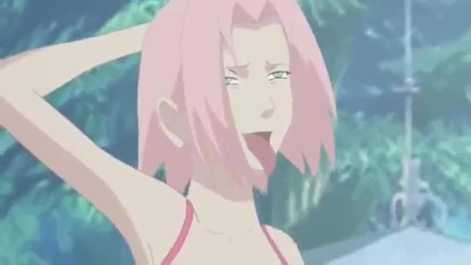 Futanari Sakura x hinata 2