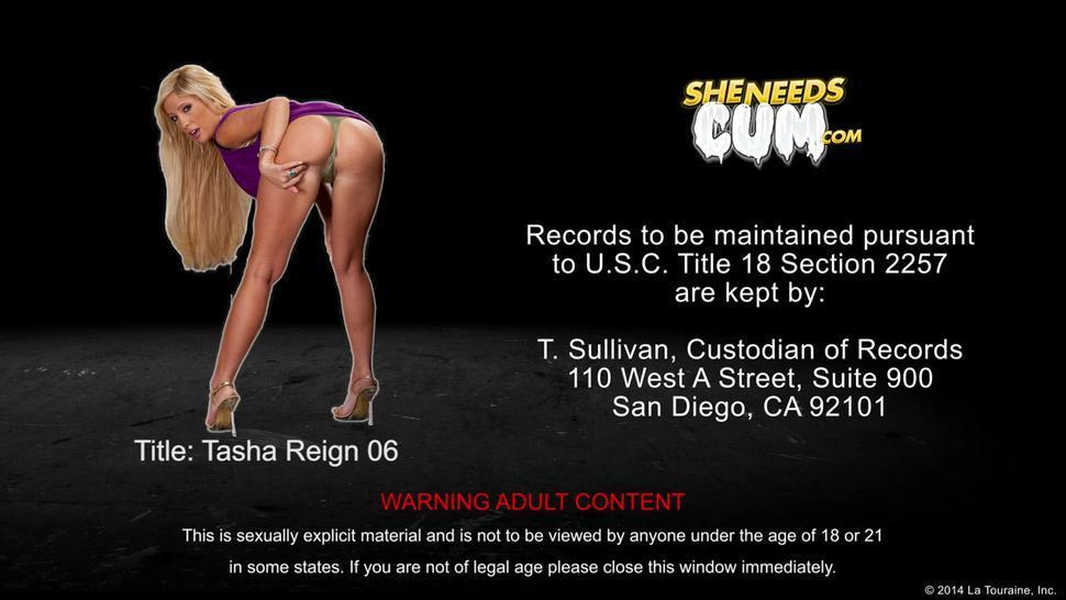 Sexy Tasha Reign Lick Cum