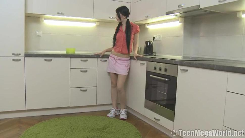 Anal Sex In The Kitchen With Cute Teen Licie - Lucianna Karel