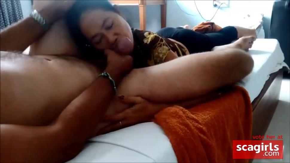 Cambodian slut  sucking and fucking 4