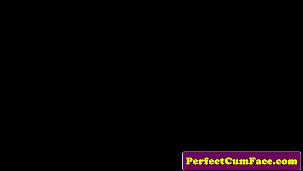 CUMPERFECTION - Naugty pigtail student cocksucks teacher pov