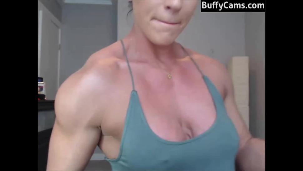 female bodybuilder webcam