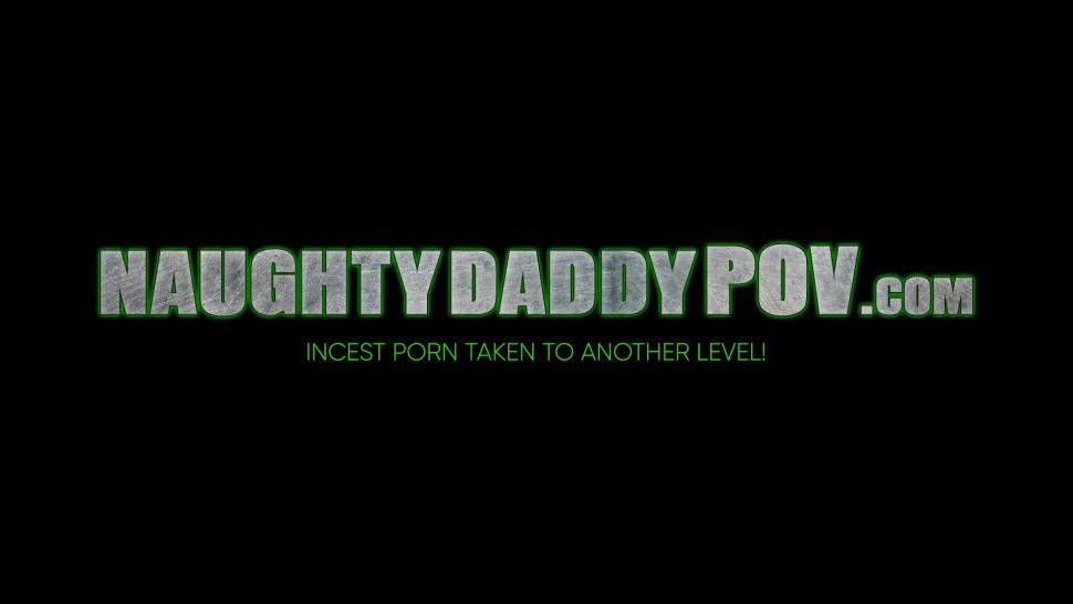 NAUGHTY DADDY POV - Naughty Young Stepdaughter Ashley Lane Fucked in a POV