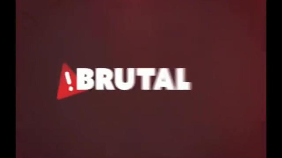 BrutalClips - Innocent Cutie Gets a Mouthful Of Jizz