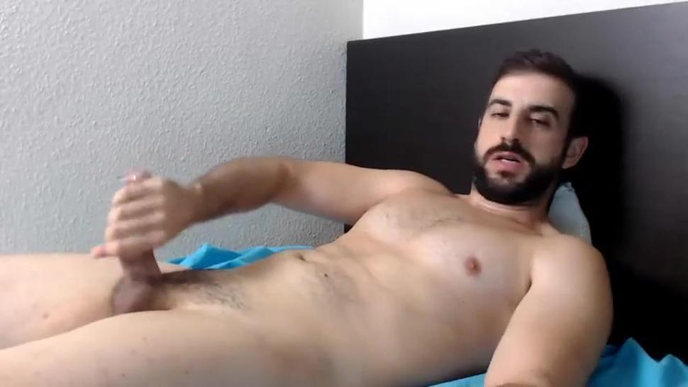 Hot Guy Jerks off and Cums