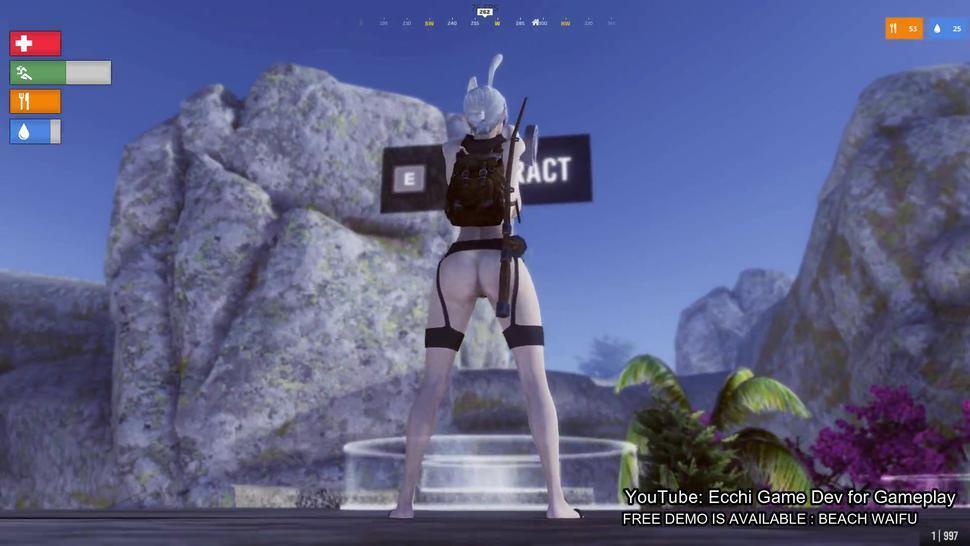 Beach Waifu - 3d Adult Game  Uncensored Gameplay