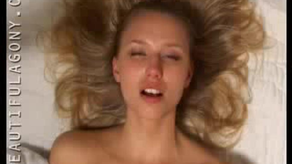 Beautiful Agony Hot Blond