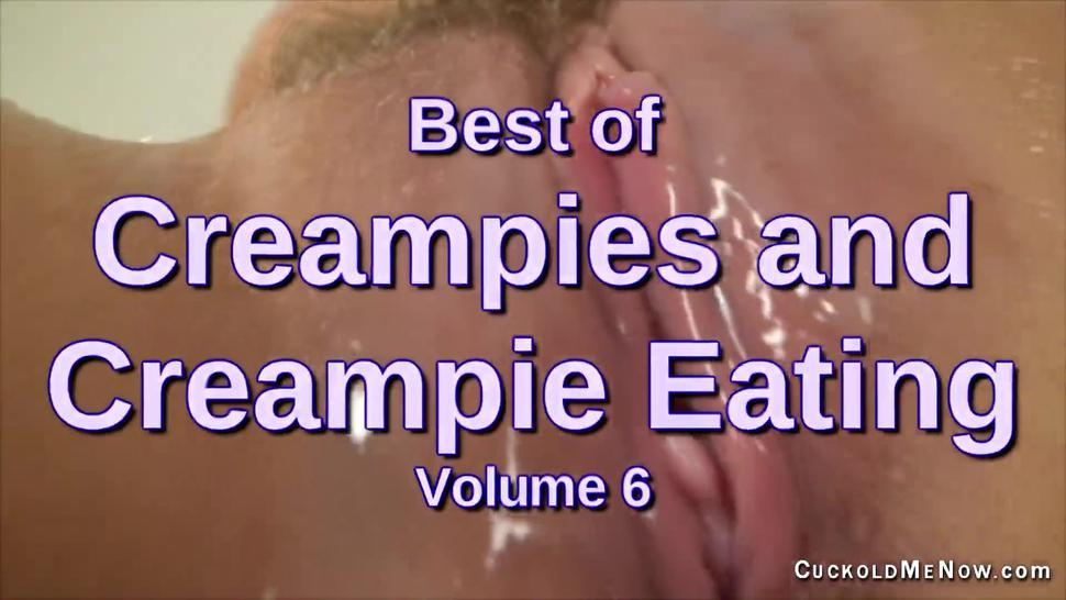 Best of Creampies and Creampie eating Nicole Aniston and 6 other hot wives make you suck out the cum