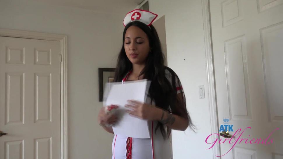 Nurse Mi Ha Doan Jerks You Off