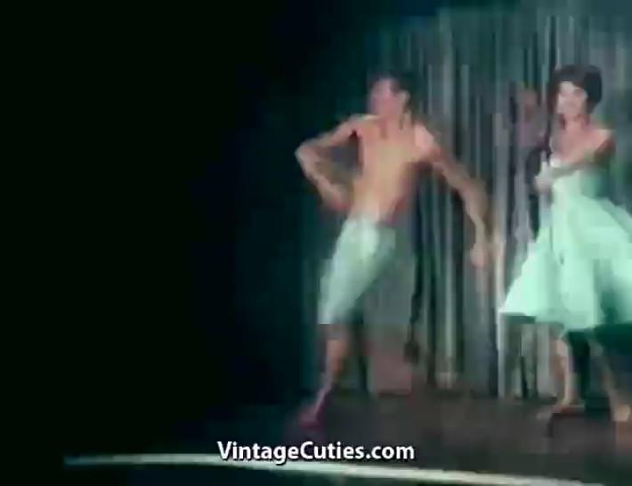 Babes/nipples/her ballerina nude partner dancing