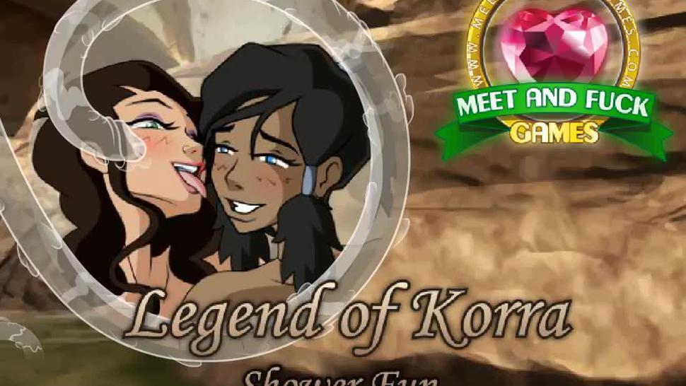 Legend of Korra - Shower fun [t.me/mnfgames]