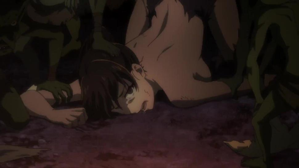 Goblin Slayer Episode 01 Fighter Brutal Uncut Scene