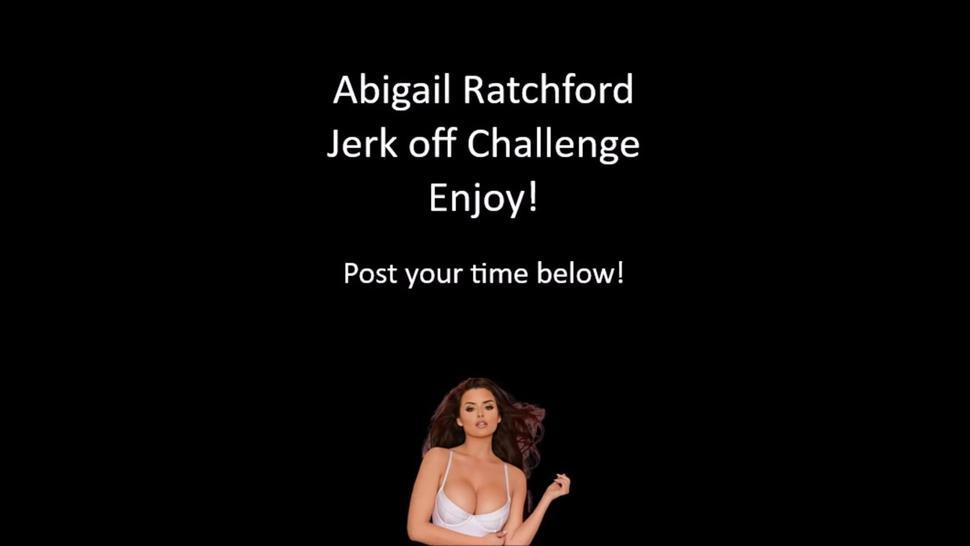 Abigail Ratchford Jerk off challenge