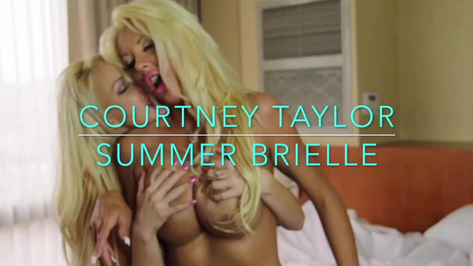 Summer Brielle And Courtney Taylor Have Hard Lesbian Sex. - Summer Brielle Taylor