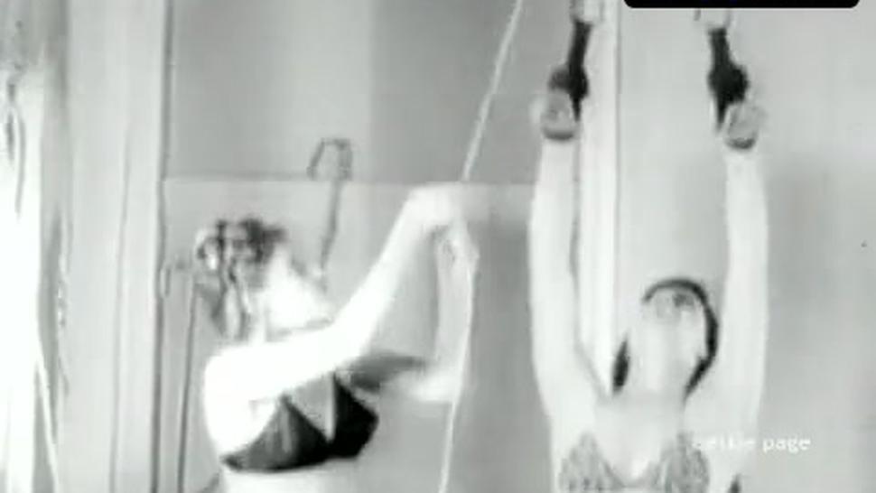 Bettie Page Underwear Scene  in Bettie And Bondage